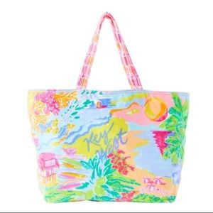 NWT! Lilly Pulitzer Destination Tote Key West